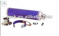 muffler universal motorcycle , hot sale and made in china