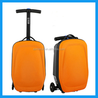 business man PC film trolley suitcase