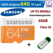Genuine Samsung EVO Plus Class 10 memory card 64GB Micro SD Card SDXC UHS-1