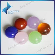 High quality different colors cabochon cut flat back gemstones