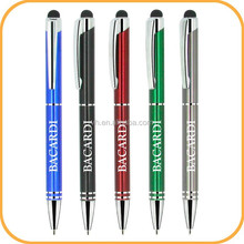 anodized aluminum pen with stylus