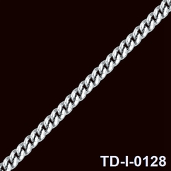 hotsale jewelry accessories stainless steel chain block