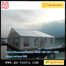 Cheap10x20 Big PVC fireproof Event canopy tents for temporary warehouse workshop 08 Beijing Olympic Games Official supplier