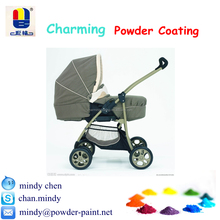 hot selling impact resistant high gloss polyester powder coating for baby car