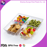 100% disposable eco-friendly plastic ware disposable dishes/disposable cutlery