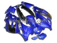 ABS Motorcycle Fairings For Suzuki GSX 750F 03-06 motor boday kit/body part/fairing blue