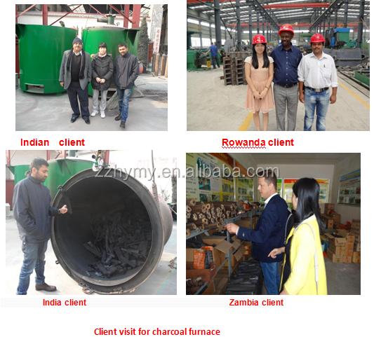 biomass briquette carbonizing furnace