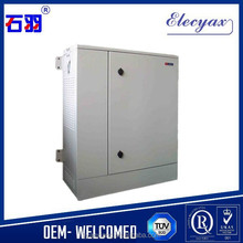 Cable/Wire management rack cabinet weatherproof/SK-76105 19 inch rack enclosure with heat exchanger