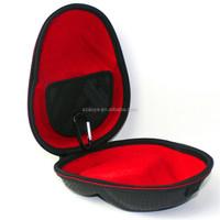 Waterproof Custom EVA hard case,headphone with brand logo,silicone earphone holder