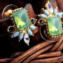 C86524A wholesale lady fashion sale diamond stud earrings crystal earrings