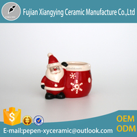 Father Christmas ceramic cup for christmas