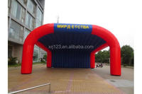 Customized Portable advertising inflatatble tent,210 Oxford cloth with blower
