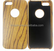 collectable gift wood art craft zebra wooden phone case for iPhone 5s