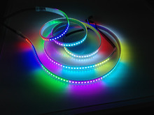 individual addressable DC5V 12V WS2812B WS2811 digital led strip 144 dots per mtr