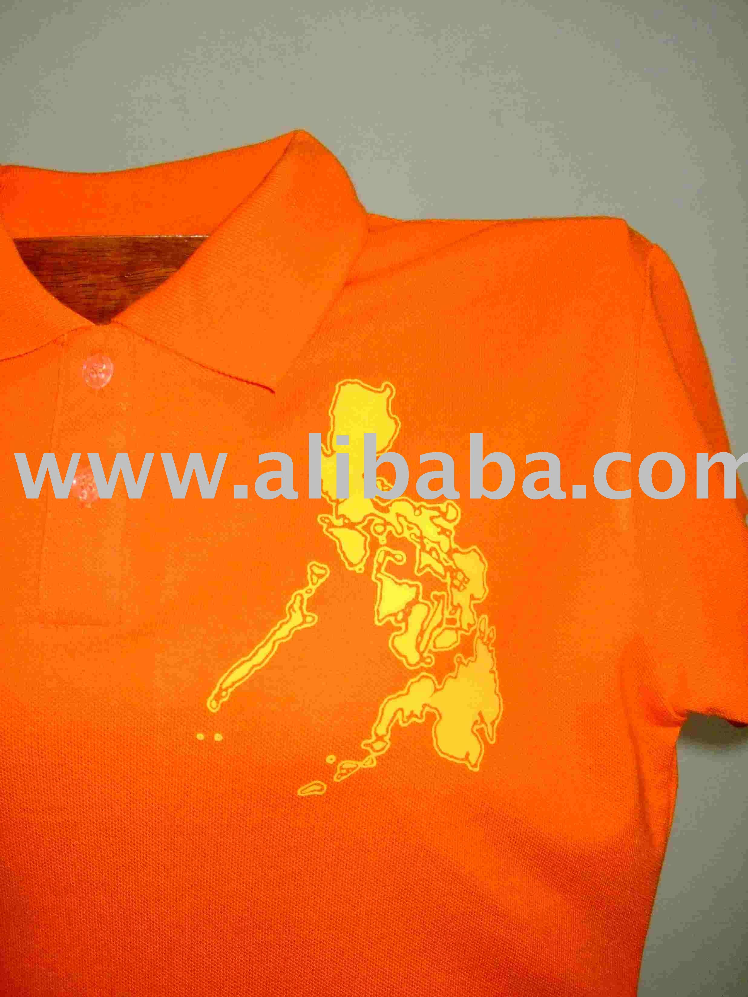 Pinoyakocamiseta accepts silk screen printing polo shirt for Screen printing polo shirts