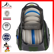 High Quality Outdoor Disc Backpack Disc Golf Bag (ESX-LB163)
