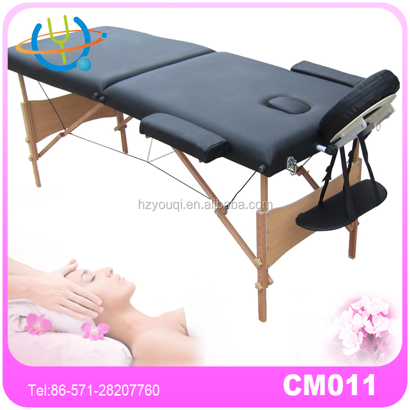 2 folding wooden adjustable table de massage pliable for spa treatment buy - Table massage pliable ...