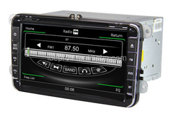 8 Inch Touch Screen Car Dvd Player with Radio Multimedia Navigation System for Volkswagen Magotan Sagitar Bora Golf 6 Touguan