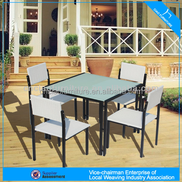 H cf1015 high end patio outdoor furniture of tea table for Outdoor furniture high end