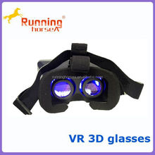 2015 New and fantasy VR 3D glasses for max,3D movie for 3.5-5.7inch smart phones VR 3D glasses