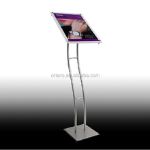 High-end advertising, brand clothing store display advertising bracket, jewelry store ads bracket
