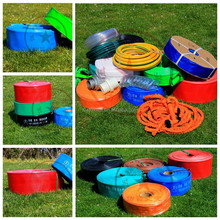 Agricultural water hose/PVC lay flat water pipe /high pressure irrigation hose expandable pipe