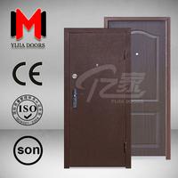 YIJIA ECONOMICAL STEEL MELAMINE ARMED DOOR,YJRH47