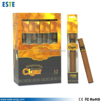 2014 Newest 1800 puffs disposable brands e cigar made in China
