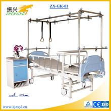 Hot Sale Four Columns Adjustable Orthopaedic Hospital Bed