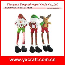 christmas decoration (ZY14Y490-1-2-3 45CM) Christmas long leg toy doll gift product