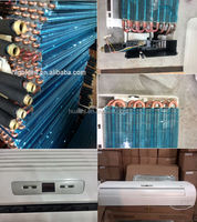 Air conditioner wall mounted exposed split fan coil,chiller water fan coil ,fan coil thermostat