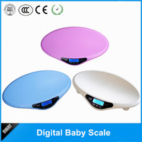 multi-color digital music baby/pet weighing scale 20kg with height measuring tape
