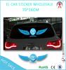 new car led sticker/sound activate car sticker/3d led car logo stickers light