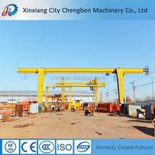 China Manufacturer Double Beam Overhead Cranes With Trolley