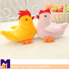 China promotional stuffed animal chicken toy, plush toy chicken