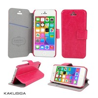 H&H hot sale smart flip leather case for hard protective case for iphone5c 5s