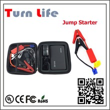 450 peak current New product 2015 hot selling 16800mAH multi-functional portable car jump starter with air compressor