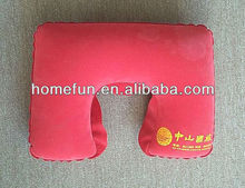 hospital inflatable air travel cheap promotional pillow/medical cushion