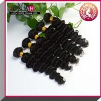 16 Inch wholesale brazilian hair extensions south africa Deep Wave Hair Bundles
