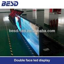 Waterproof IP65 Front Open Front access cabinet LED Display P10 outdoor full color led display