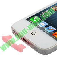 Hot !! For iPhone 5 Earphone Jack Anti-dust Plug Stopper for iPhone 5S 5C