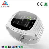 2015 Fashion bluetooth android GPS smart watch M26 smartwatch wristwatch for android and ios mobile phone
