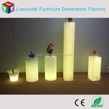 LED decorative light LED high column with 16 color changing and remote
