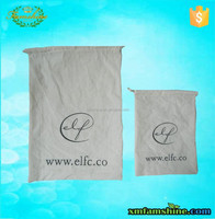 promotional natural organic cotton drawstring bags