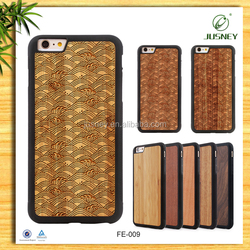 Jusney wood phone case, Hot-selling for iphone 6 case custom welcome