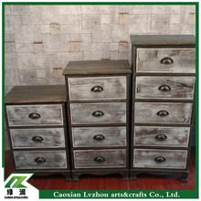 european style antique wood cabinet / wood storage cabinet/ wood drawer
