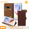 BRG Leather Magnetic For Samsung S6 Phone Case With Credit Card Holder