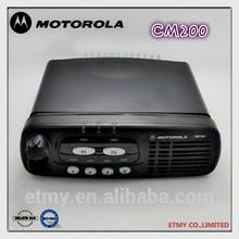 hot sale motorola CM200 uhf vhf original digital car radio