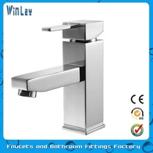 Chrome Plated Brass Single Handle Basin Faucets