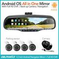 5.0 android wifi bluetooth gps de navegación bluetooth cámara de visión trasera del espejo germid